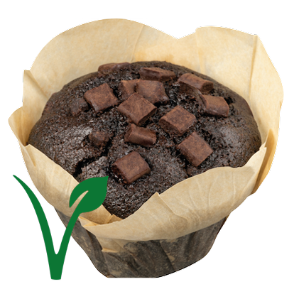 Muffin Dark Chocolate Vegan