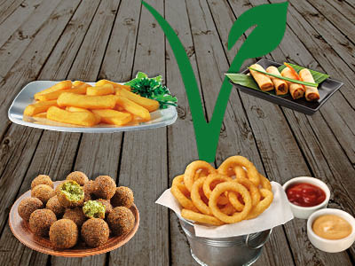 Fingerfood Box Vegan